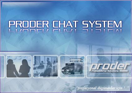 PRODER Chat Sistemi